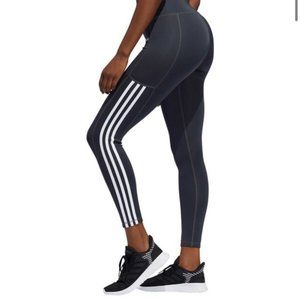 Adidas Women's Grey Basic Athletic Leggings